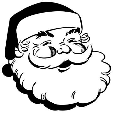 Stickers Père Noël 7