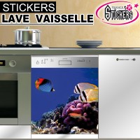 Stickers Lave Vaisselle Poissons 3