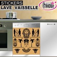 Stickers Lave Vaisselle Egypte Antique 1