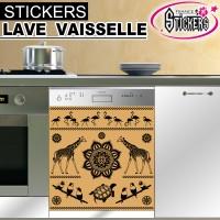 Stickers Lave Vaisselle Egypte Antique 2
