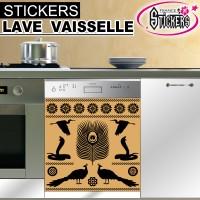Stickers Lave Vaisselle Egypte Antique 3