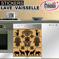 Stickers Lave Vaisselle Egypte Antique 4
