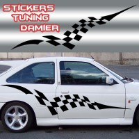 Stickers Tuning Damier – std3