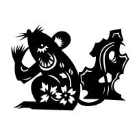 Stickers Signe astrologique chinois du Rat