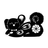 stickers Signe astrologique chinois du Chien