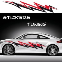 Stickers Tuning Tribal Color par 2 stt4