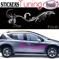 Stickers Tuning Floral
