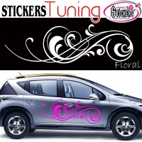 Stickers Tuning Floral 2