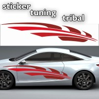 Stickers Tuning Tribal Color par 2 stt5