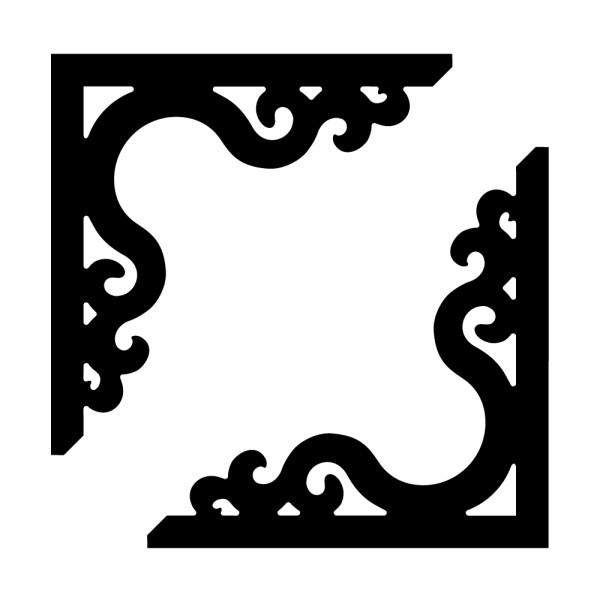 stickers autocollant baroque pas cher france stickers. Black Bedroom Furniture Sets. Home Design Ideas