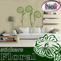 Stickers Floral Géant