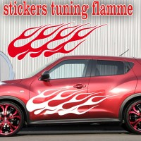 Stickers Tuning Flamme par 2 stf2