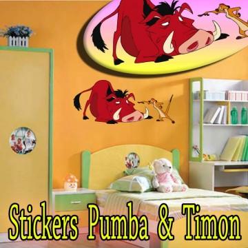 stickers Pumba et Timon 1
