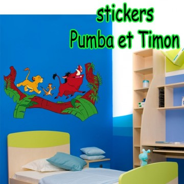 stickers Pumba et Timon 2