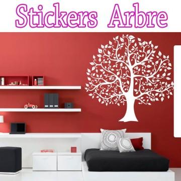 Stickers Arbre Automne