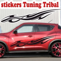 Planche de 2 Stickers Tuning Tribal 6