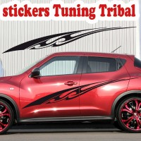 Planche de 2 Stickers Tuning Tribal 5