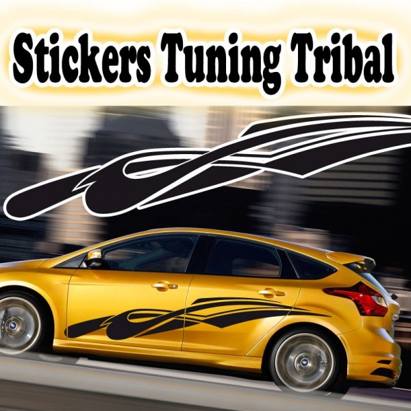 Stickers tuning voiture tribal france stickers for Stickers exterieur personnalise