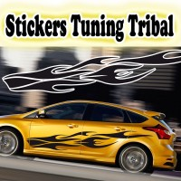 Stickers Tuning Tribal stt4