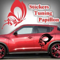 stickers Papillon Tribal spt6