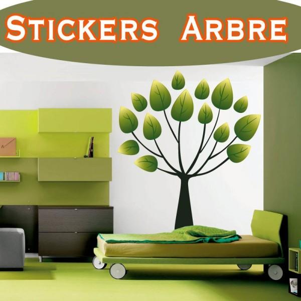 Stickers autocollant arbre pas cher france stickers for Autocollant mural arbre