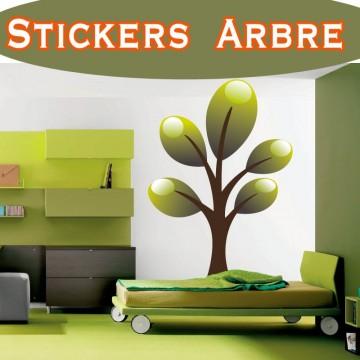 Stickers Autocollant Arbre 15