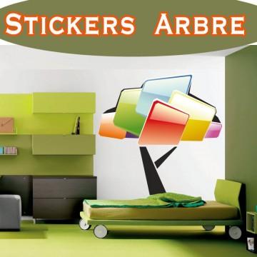 Stickers Autocollant Arbre 16