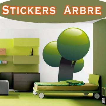 Stickers Autocollant Arbre 17