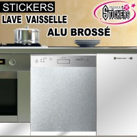 Stickers lave vaisselle cuisine france stickers - Sticker alu protection cuisine ...