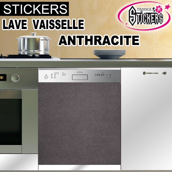 stickers lave vaisselle anthracite france stickers. Black Bedroom Furniture Sets. Home Design Ideas