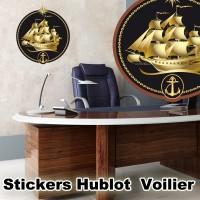 stickers hublot Voilier