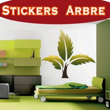 Stickers Autocollant  Arbre 18