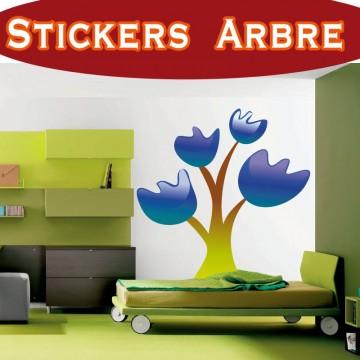 Stickers Autocollant Arbre 19
