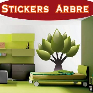 Stickers Autocollant  Arbre 23