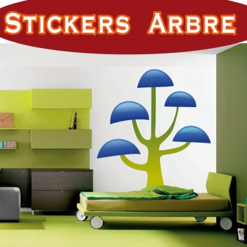 Stickers Autocollant Arbre 24