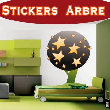 Stickers Autocollant Arbre 25