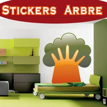 Stickers Autocollant Arbre 26