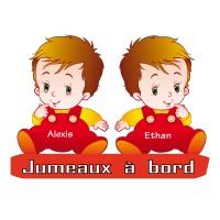 Stickers Jumeaux à Bord