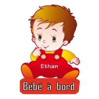Stickers Bébé à Bord personnalisé