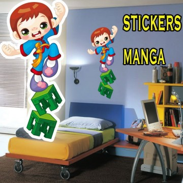 stickers Manga 22