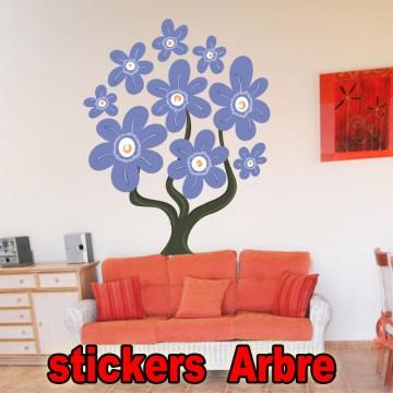 stickers Autocollant  Arbre 30