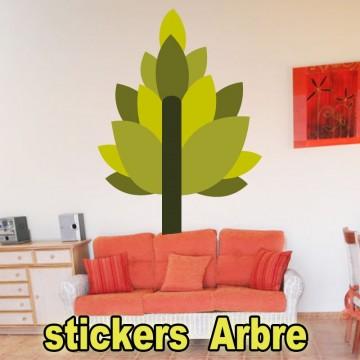 stickers Autocollant Arbre 28