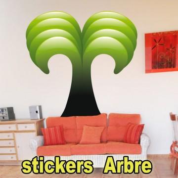 Stickers Autocollant  Arbre 27
