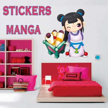 Stickers Manga 27