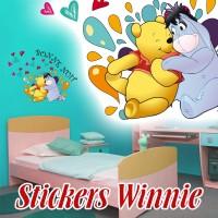 Stickers Winnie Bonne Nuit