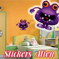 stickers Petit Martien 9