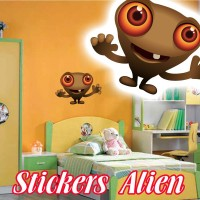 stickers Petit Martien 10