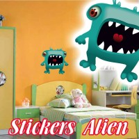 stickers  Petit Martien 11