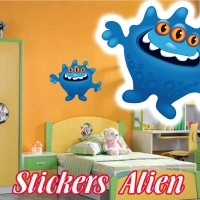 stickers Petit Martien 12