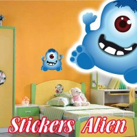 Stickers  Petit Martien 13